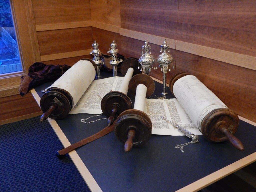Our Czech Torah Scrolls